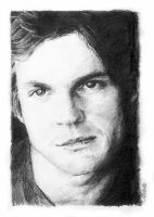 Gale Harold pencil by chilliette