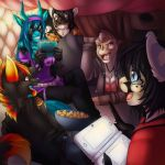 Pillow Fort by Tartii