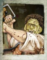 leatherface - revisited by dubtastic
