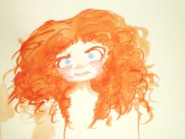 Markers/Paint Test - Merida by Dynneekx