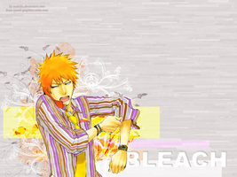 Ichigo Wallpaper by Makiilu