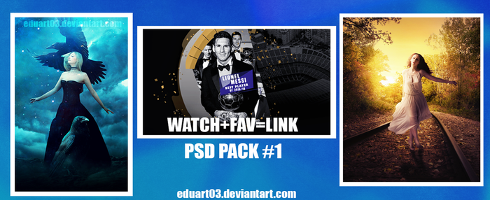 PSD PACK #1 by Eduart03