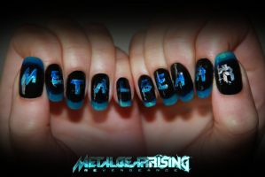 Metal Gear Rising: Nails by NihonOaisuru