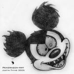Mickey Gone Wild by JustinThymePendragon