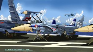 F-203E Sea Dragon by LeElf