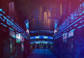 CyberFunk Synthetic Inn. by hybridgothica