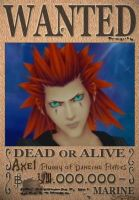 Axel Wanted Poster by SoraKing