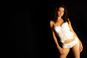 Kathryn - white corset 4 by wildplaces