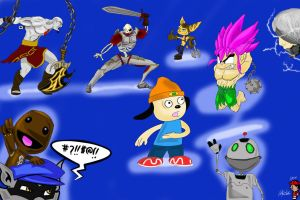 Playstation All Stars PT.1 by Cynicism8
