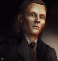 Loki - Tom Hiddleston by WhatICantDo