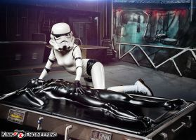 Star Wars Carbonite Vacbed by my-over-exposure