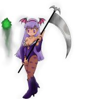 morrigan night warrior anime_start not finnished by Numbmonkey