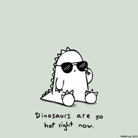 Dinosaur Facts - Hot by DeathByStraws