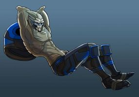 Garrus for Nina by batchix