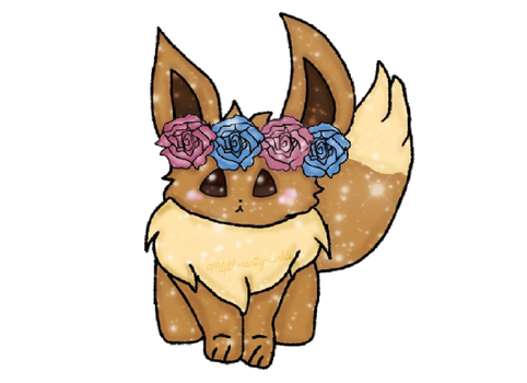Eevee (Taytaymaddy2 Commission) by mlptheraritysparkle