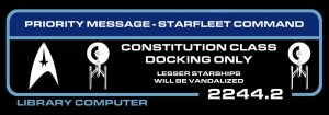 Starfleet message screen by davemetlesits