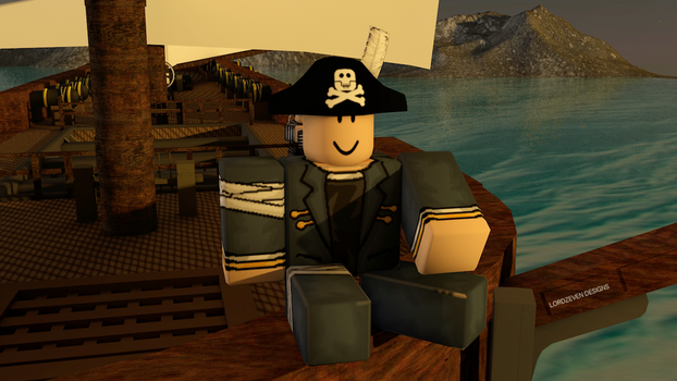 The Happy Pirate :) by LordZeven