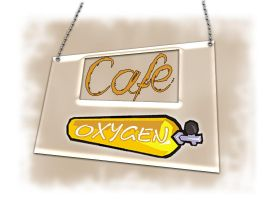 cafe oxygen by alisaan