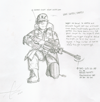 UNSC Sniper by Chris000