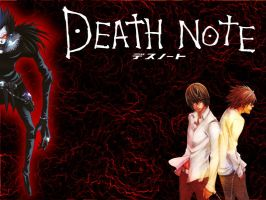 Death Note Wallpaper by BalianTheMighty