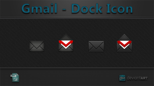 Gmail - Dock Icon by WwGallery