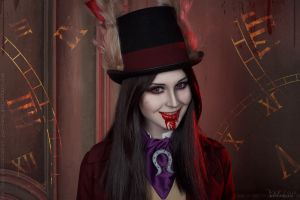 Alice: Madness Returns - Bloody smile by ver1sa
