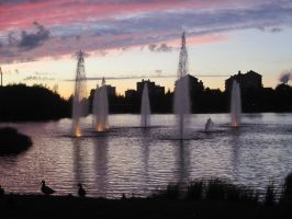 Fountains by Meyby