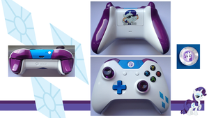 Rarity MLP:FiM Custom Xbox One Controller by CARDI-ology