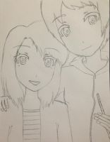 Request: Tda Karin and Dayo (Unfinished) by Myindiansummer