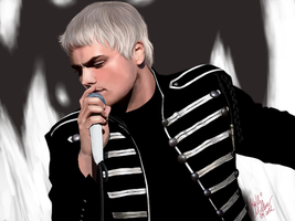 Gerard Way by SilkSpectreII