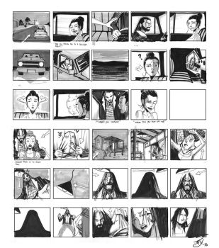 Bind Date Storyboards by Vulture34