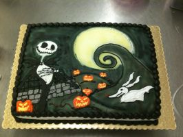 NBC Cake by zoro-swordsman