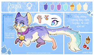 Fayla Reference Sheet 2014 by Fayven