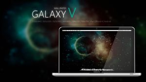 Galaxy V wallpaper by Martz90