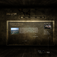 Music layout - rapper by Siwy. by Siwy02