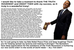 Obama THANKS The TRUTH MOVEMENT by paradigm-shifting