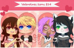 [OPEN] Valentines Icons by WanNyan