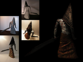 Pyramid Head - Silent Hill - Sculpture by CrystaliqEffects