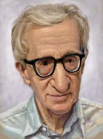 Woody Allen by godway88