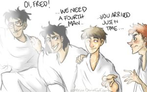 Marauders will be four forever by ooNerina