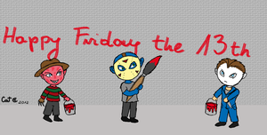 Happy Friday the 13th by VincentSharpe
