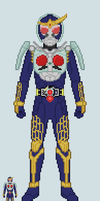 Toku sprite - Gaim (No.1 Arms) by Malunis