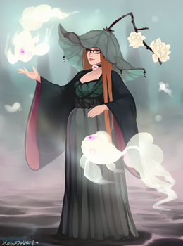 Witchsona: Fog by Momo-Deary