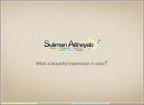 What a beautiful expression in color! MY NEW LOGO. by Dr-Adobe