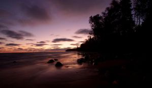 Sunrise Hurricane River Beach by aRt2faKt