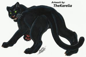 Panther Commission by TheKarelia