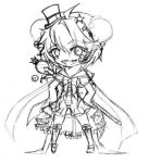 GaiaOnline avi art WIP~ by rin-moon-7-13