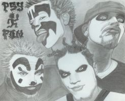 Insane Clown Posse and Twiztid by whoop303