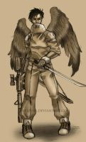 Eagle soldier by PhelRina