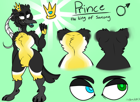 Prince (Ref Commission) by BeastOfEuthanasia